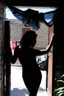 Carla Greta, el transexual mayor de Lomas del Paraíso. Foto: Rafael del Río