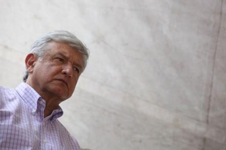 Andrés Manuel López Obrador, excandidato a la Presidencia. Foto: Octavio Gómez