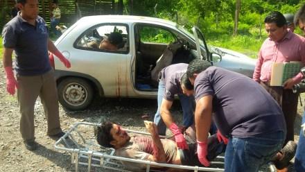 Asesinan a dos trabajadores en Guerrero. Foto: Ezequiel Flores