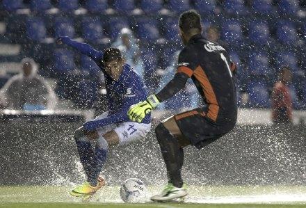 Cruz Azul-Chiapas termina con empate a un gol... Foto: Xinhua / Alejandro Ayala