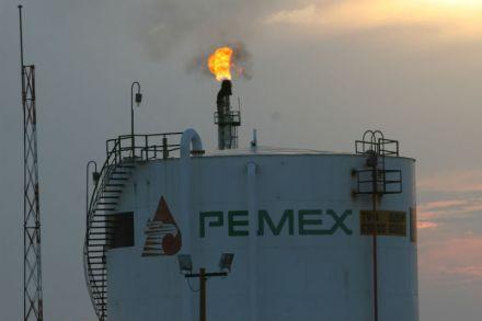 """Refinería de Pemex """"Francisco I. Madero"""" en Tamaulipas."""