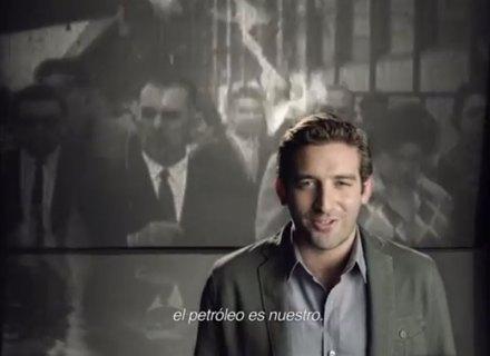 El uso de Cárdenas en la propaganda gubernamental. Foto: Youtube.com
