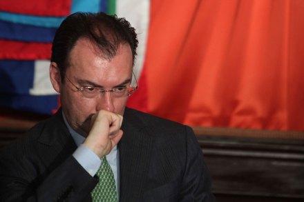 El secretario de Hacienda, Luis Videgaray Caso. Foto: Germán Canseco