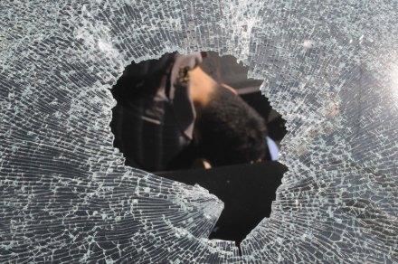 La escena de un asesinato el 5 de febrero de 2013 en Acapulco, Guerrero. Foto: Bernandino Hernández