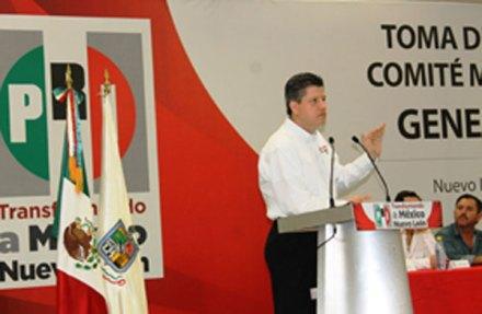 El edil de ZuaZua, Jorge Luis Martínez Gutiérrez. Foto: PRI NL