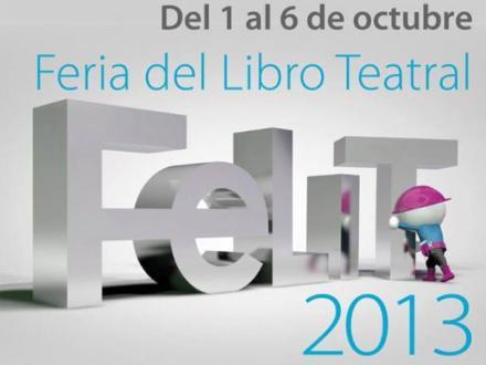 Cartel de la Feria del Libro Teatral