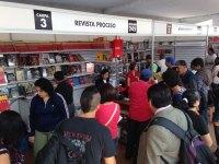 El stand de Proceso en la FIL del Zócalo. Foto: Eduardo Miranda