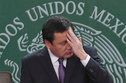 El secretario de Gobernación, Miguel Ángel Osorio Chong. Foto: Germán Canseco