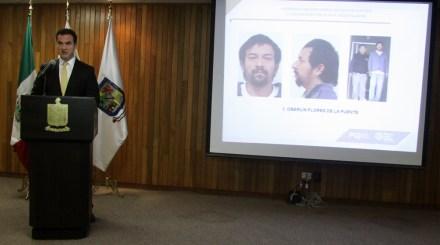 Los presuntos secuestradores capturados. Foto: Especial.