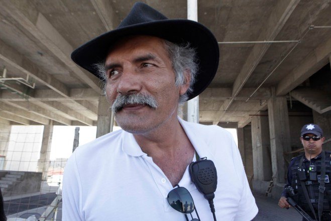 El fundador de autodefensas en Michoacán, José Manuel Mireles. Foto: Germán Canseco