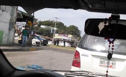 Movilización policiaca en Tamaulipas. Foto: Valor por Tamaulipas