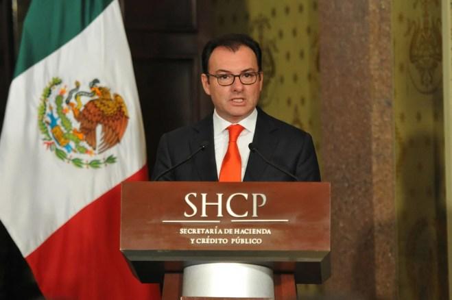 Luis Videgaray, titular de la SHCP. Foto: Miguel Dimayuga
