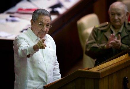 Raúl Castro en el Parlamento cubano. Foto: AP