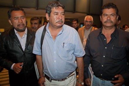 Rubén Núñez Ginez, líder de la sección 22 de la CNTE. Foto: Octavio Gómez
