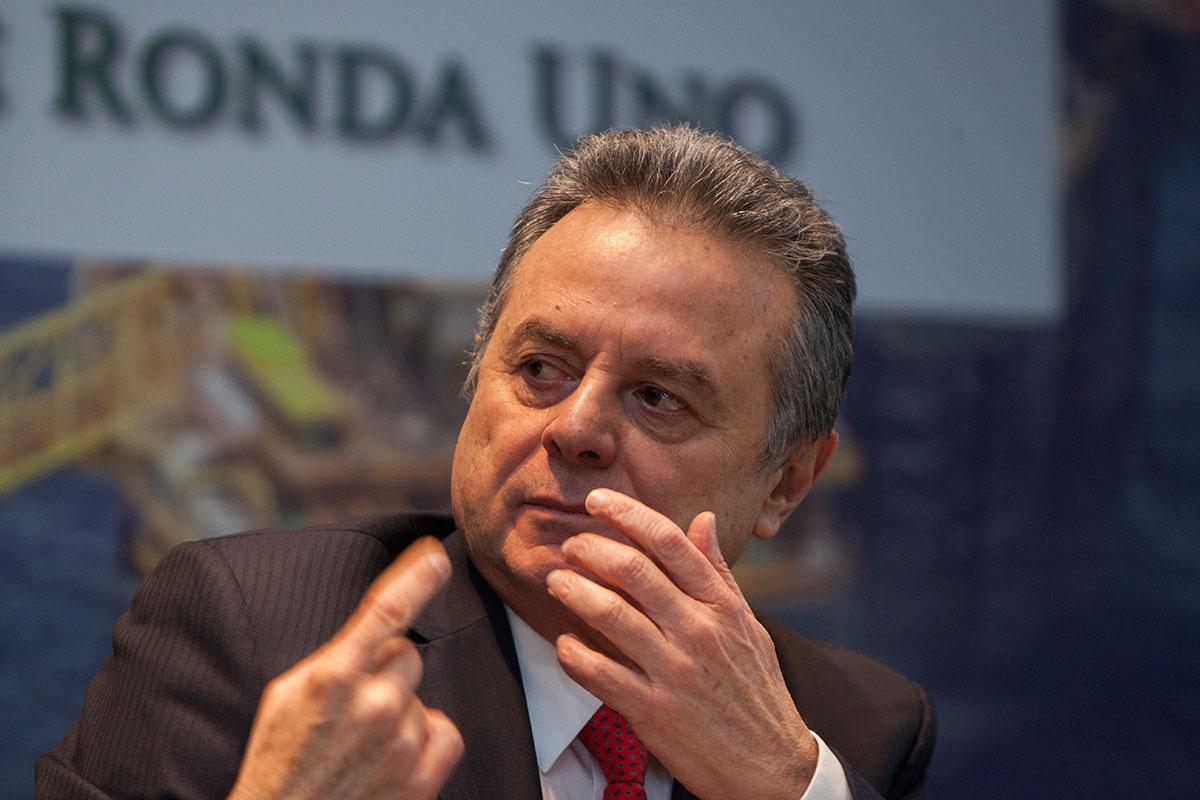 Pedro Joaquín Coldwell, titular de la Sener. Foto: Octavio Gómez