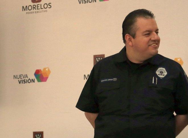 El comisionado estatal de Seguridad Pública, Jesús Alberto Capella Ibarra. Foto: Margarito Pérez