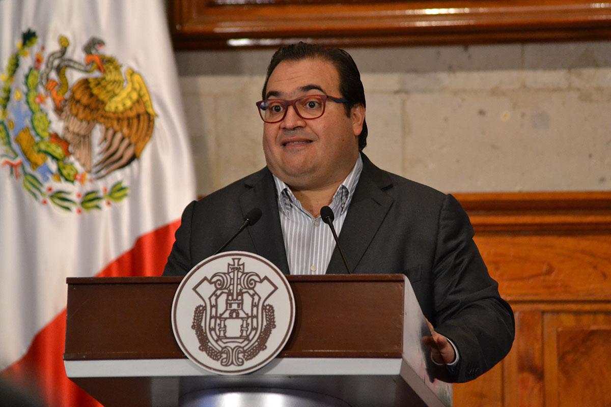 Javier Duarte, gobernador de Veracruz. Foto: Yerania Rolón