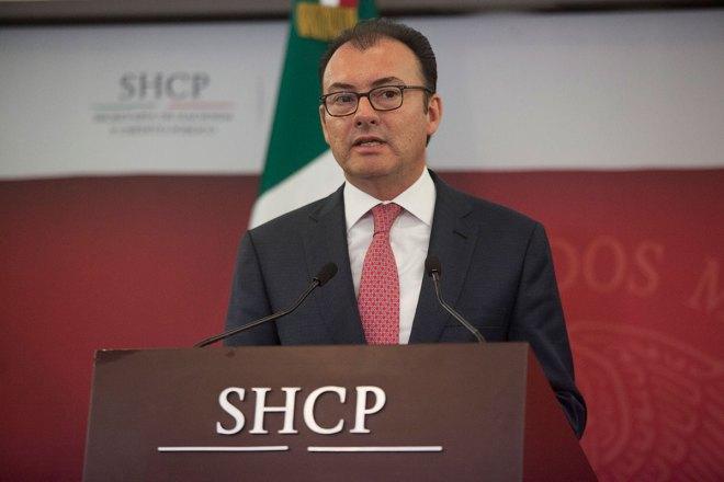 Luis Videgaray, titular de la SHCP. Foto: Octavio Gómez
