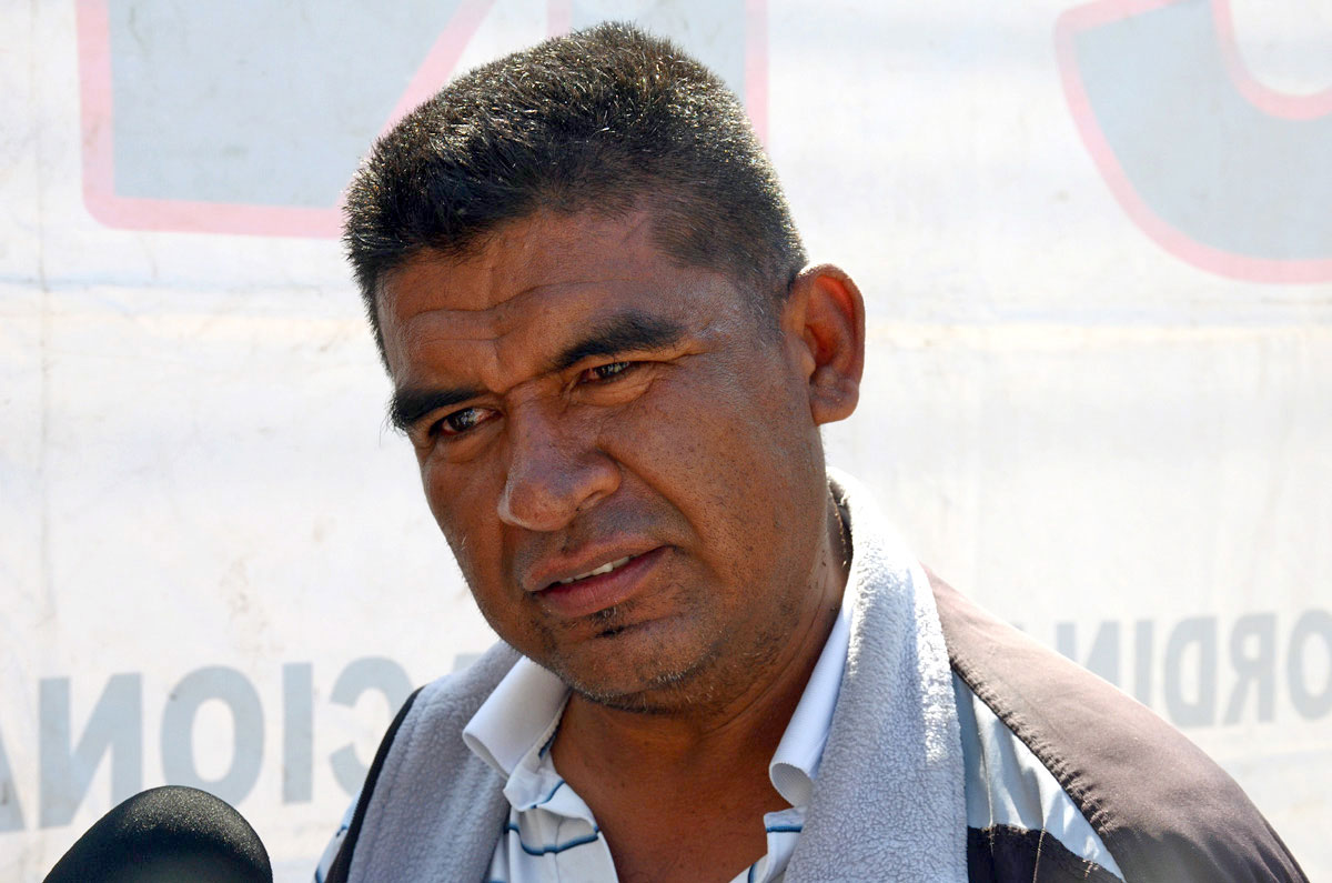 Efraín Picazo Pérez, maestro oaxaqueño. Foto: Jesús Cruz