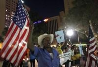 La Caravana por la Paz en El Paso, Texas. Foto: Germán Canseco