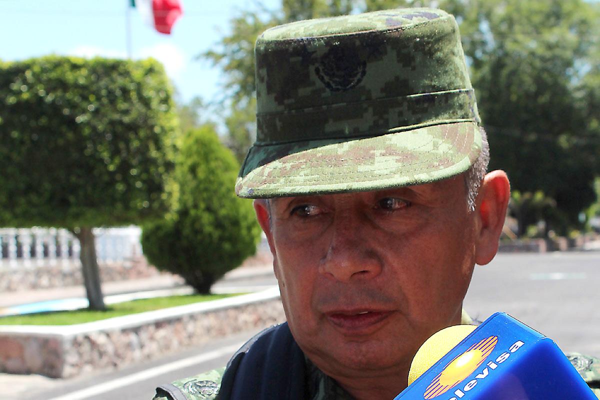 Juan Manuel Rico Gámez, actual subjefe de Inteligencia del Ejército. Foto: José Luis de la Cruz