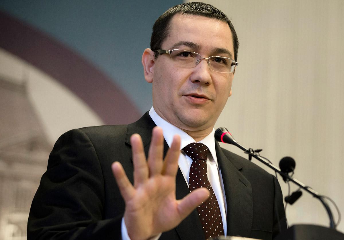 Victor Ponta, primer ministro de Rumania. Foto: AP