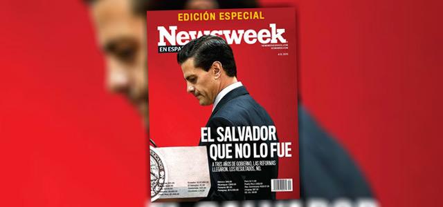 Peña en la portada de Newsweek.