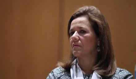 Margarita Zavala, esposa del expresidente Felipe Calderón. Foto: Benjamin Flores