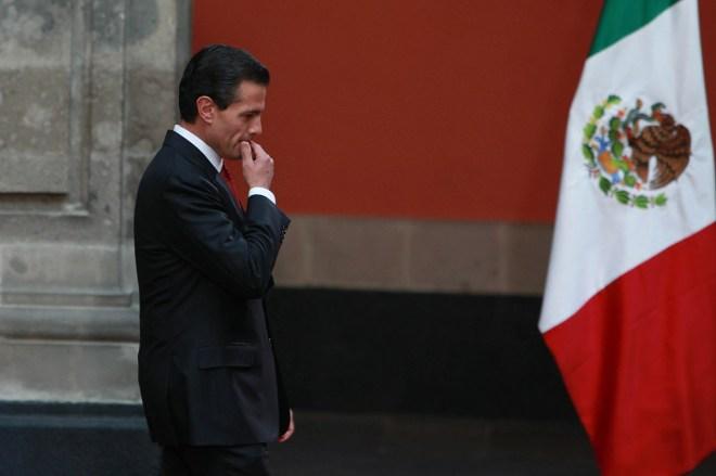 Enrique Peña Nieto, titular del Ejecutivo. Foto: Benjamin Flores