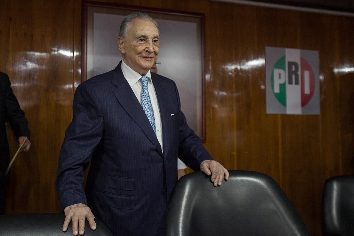 Joaquín Gamboa Pascoe, líder de la CTM. Foto: Octavio Gómez