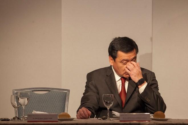 El secretario de Gobernación, Miguel Ángel Osorio Chong. Foto: Miguel Dimayuga