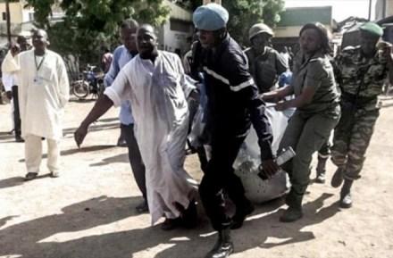 Atentado en Camerún. Foto: AP