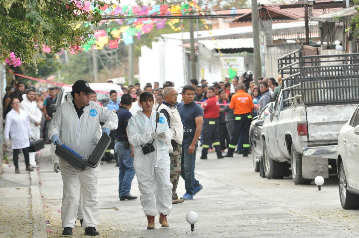 Los rojos, involucrados en el asesinado de la alcaldesa de Temixco. Foto: Noé Knapp