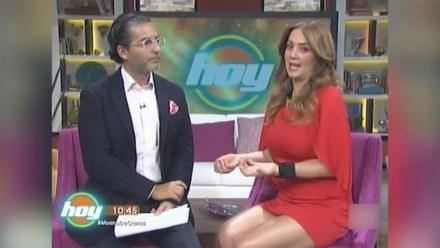 """La plática """"casual"""" entre Araiza y Legarreta en Televisa."""