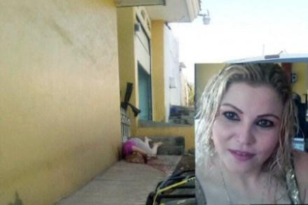 La joven iba saliendo de su casa. Foto: Especial