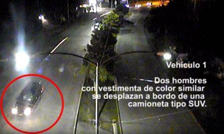 Video donde se ve el paso del convoy. Foto: Especial
