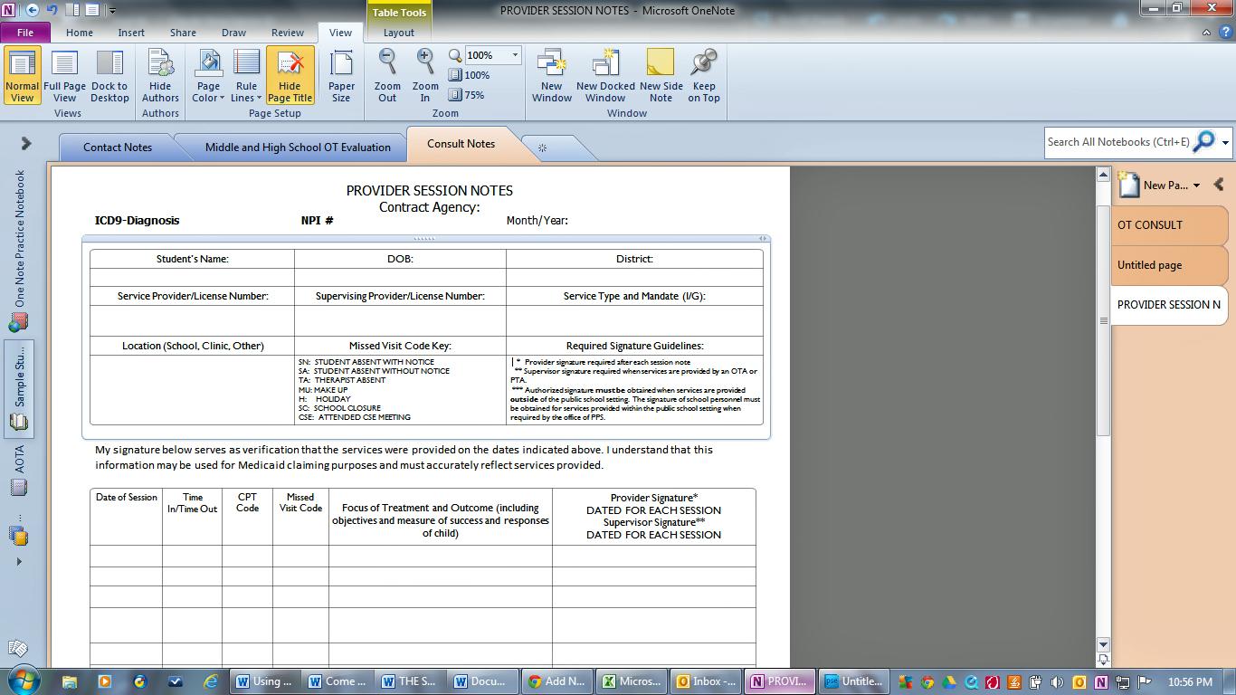 network documentation templates