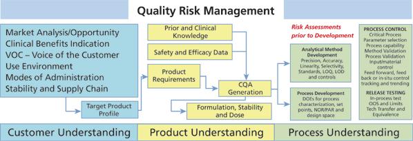 Essentials in Quality Risk Management - Process Development Forum - product risk assessment