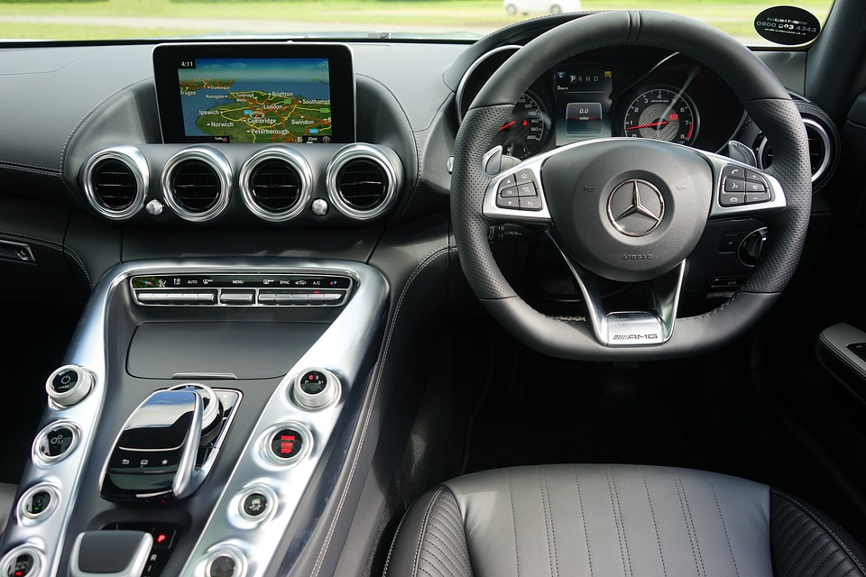 New cars have a lot of computing power, and with the rise of wireless and connected tech, they could become targets to hackers. Pixabay.com / CC0 1.0.