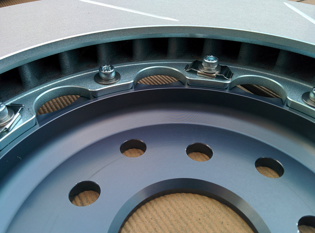 Girodisc Brake Rotors for Subaru STi. Image courtesy of Ryan Gsell on Flickr, hosted under CC BY 2.0.