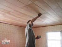 Faux Barn Beam Ceiling ~ Master Bedroom Remodel - Prodigal ...