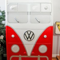 Volkswagen Bus Chest - BEEP Christmas Version