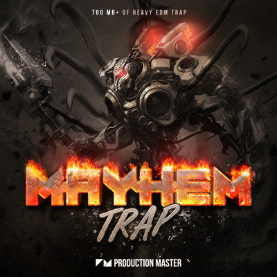 Mayhem Trap - 808 Drum Samples, FX, Vocals \u2022 ProducerSpot