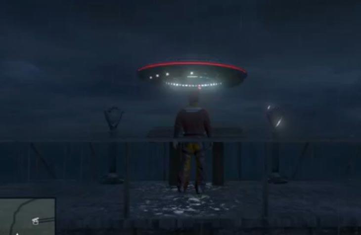 Grand Theft Auto Wallpaper Girl Gta V Online Ufo Mod Reason For Sightings Product