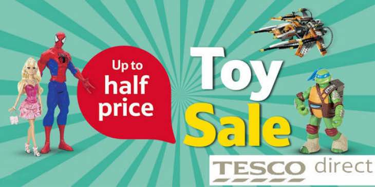 Tesco half price toy sale  Best Wholesale