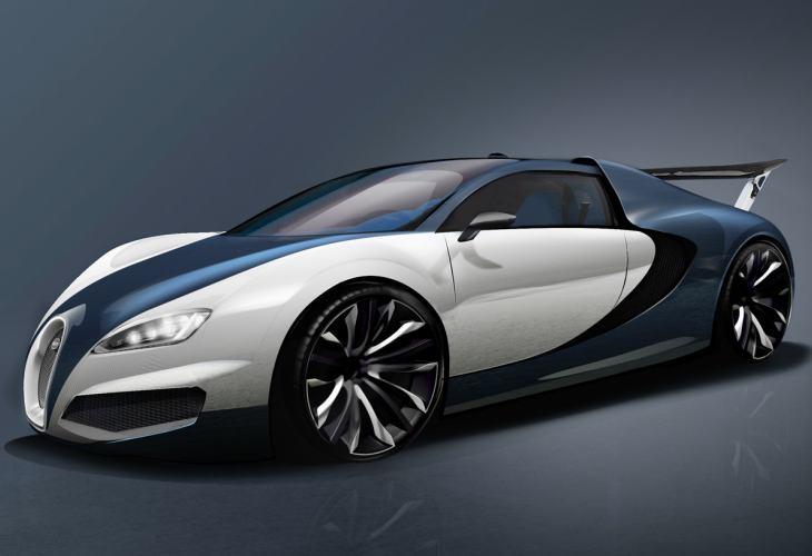 Coolest Car In The World Wallpaper Trio Of Bugatti Veyron Successor Development Concepts
