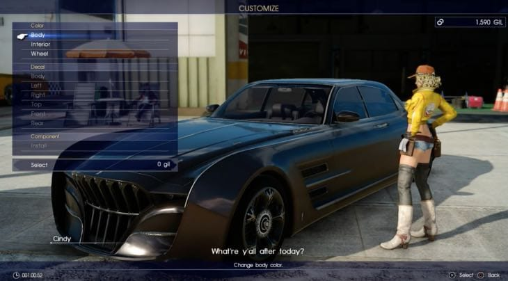 Car Hdr Wallpaper First Final Fantasy Xv Gameplay On Xbox One Vs Ps4