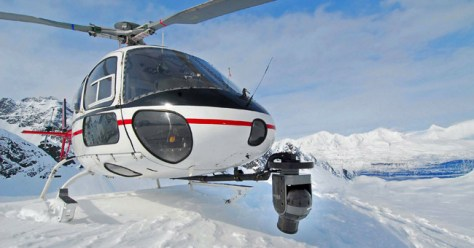 "Aerial Filmworks provided the Airfilm AFSP mount and Cineflex V14HD for use on ERA Helicopter's A-Star AS350-B2 for filming the Alaska sequence of the ""That's It That's All"" snowboard film with Director Curt Morgan."