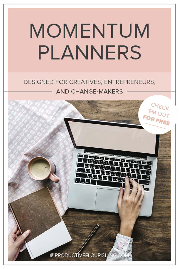 Free Planners  Productivity Worksheets Productive Flourishing
