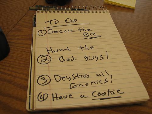 The Sacred To-do List